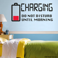 """CHARGING"" HM Decal Removable Wall Decal"