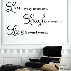 Inspiration HM Decal wall quote decal vinyl sticker for home or Office