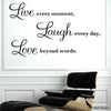 Image of Inspiration HM Decal wall quote decal vinyl sticker for home or Office