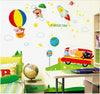 Image of Hot airballoon  Kids / Nursery wall decals HM Removable Wall Sticker