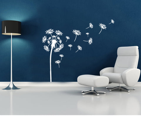 DANDELIONS DIY Removabel Wall Decal