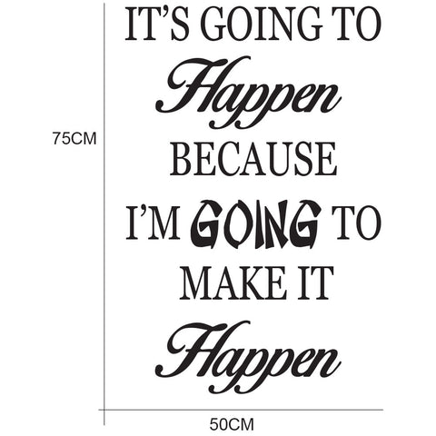 Inspiration HM Decal wall quote decal vinyl sticker