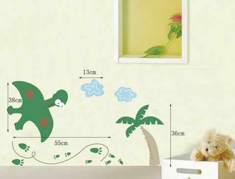 Baby DINOSAUR Nursery / kids Removable wall decals Wall Sticker