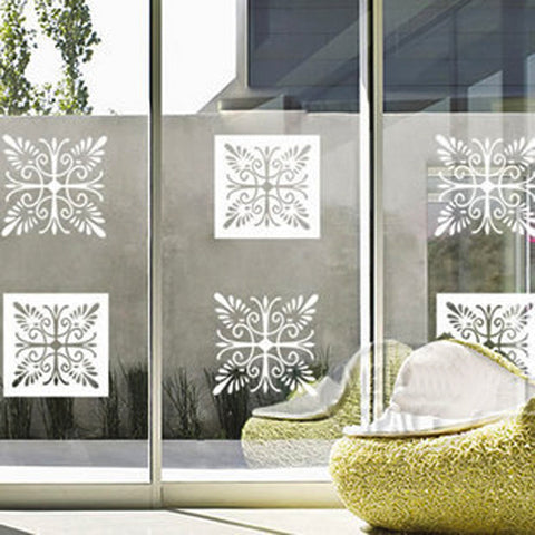 White window sticker wall decals Removable Wall Sticker