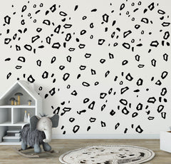 Leopard Prints Removable wall decal Wall sticker Mural Wall Art