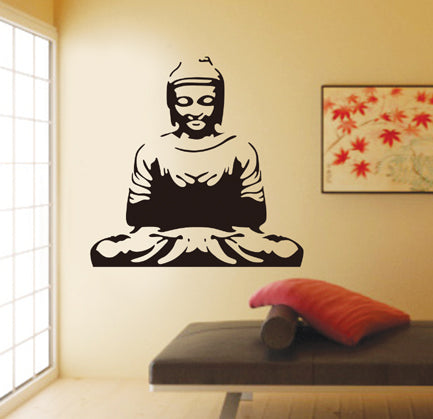 Buddha Wall Art wall decals Removable Wall Sticker