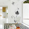Image of Butterflies & Floral Wall Art  wall decals Removable Wall Sticker