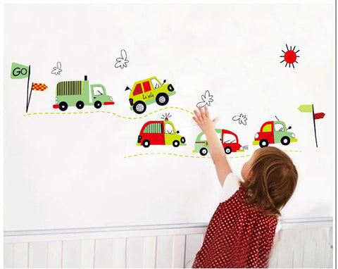 Cars Nursery / Kids Removable Wall Sticker Wall Art  wall decals
