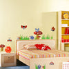 Image of Ladybugs, Mushrooms Nursery wall decals Removable Wall Sticker