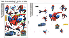 Spiderman Kids Nursery wall decals Removable Wall Sticker