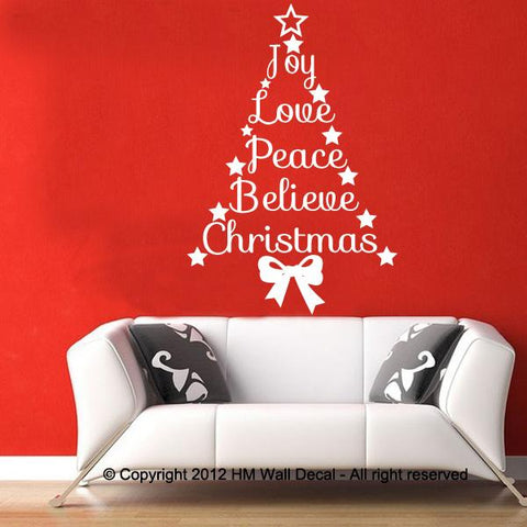 Christmas Wall Decal Wall Sticker great gift