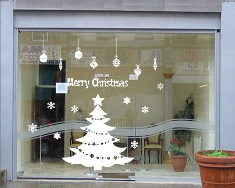 Christmas Window Decal Wall Sticker great gift Xmas party decor