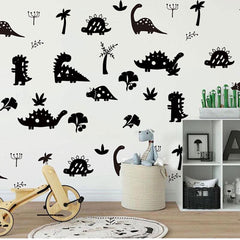 Dinosaurs Park  Removable Wall Stickers Vinyl Wall Decal Mural Nursery Kids room decor