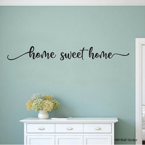 """ Home Sweet Home "" Removable Wall Art Decal HM wall sticker"