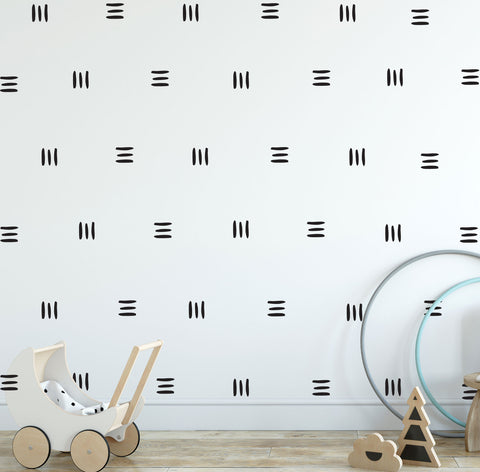 LINES  Removable Wall Stickers Vinyl Wall Decal Mural Home Decor