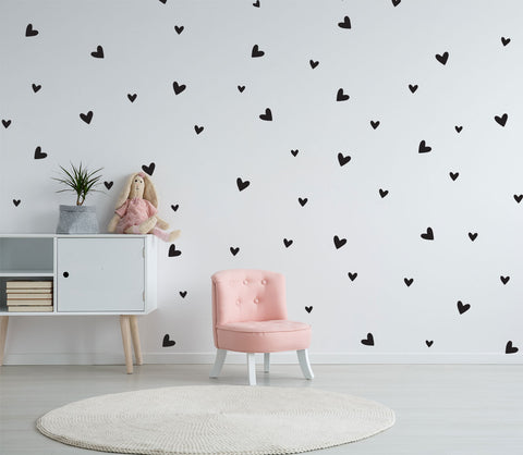 Love Heart Wall Sticker Removable wall decal