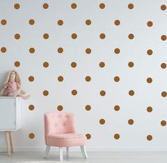 81 POLKA DOTS Removable Wall Sticker Wall Decal
