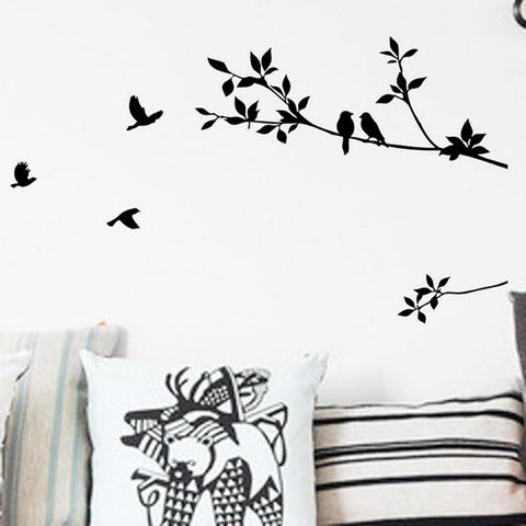 Bird Tree Branch Removable Wall sticker