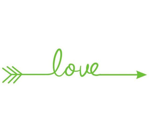 LOVE ARROW Wall decals Removable wall sticker