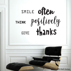 Inspirational Wall Decals Removable wall sticker
