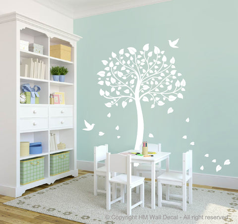 Nursery Kids Tree Removable Wall Stickers Decal, Made in Australia