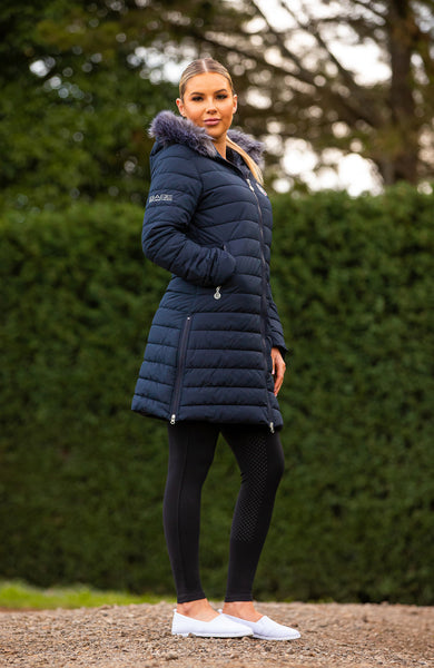 BARE Winter Series - Leah Jacket - Navy