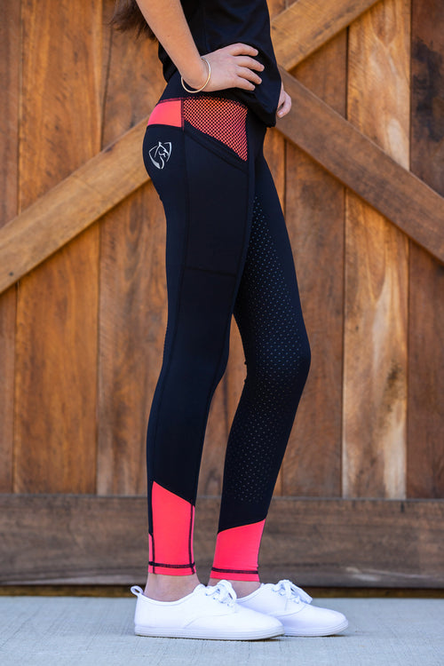 No Grip BARE Performance Tights - Peachy