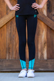 BARE Performance Riding Tights - Panama