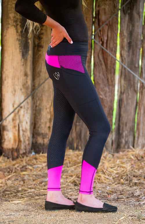 No Grip BARE Performance Tights - Miami