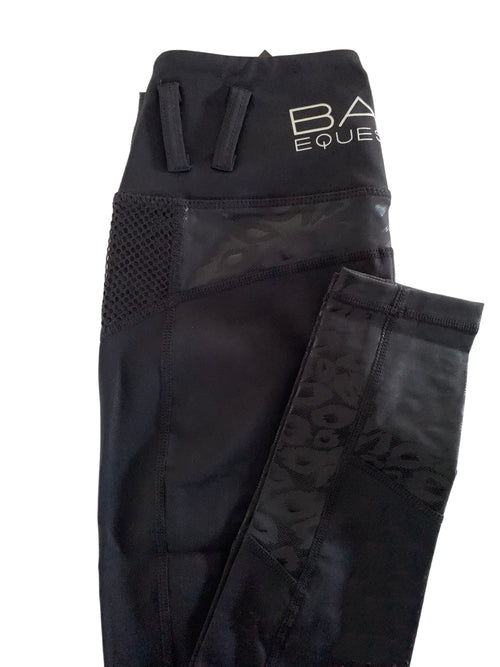 No Grip BARE Performance Tights - Black Cat