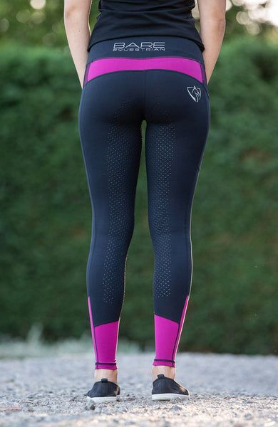 No Grip BARE Performance Tights - Grand National