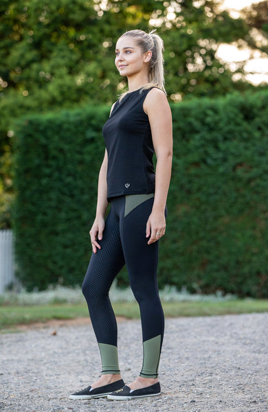 No Grip BARE Performance Tights - Military