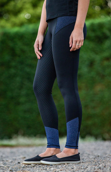 BARE Performance Tights - Blue Storm