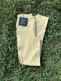 Youth Competition Wear - Lemon Butter Competition Tights