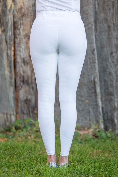 BARE Competition Wear - SNOW WHITE Competition Tights