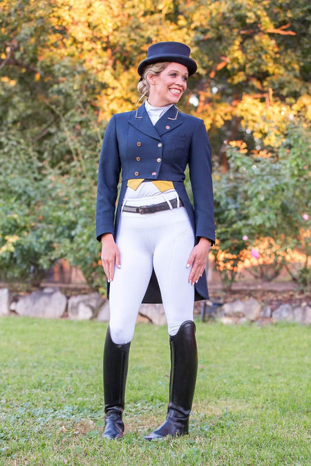 BARE Performance Riding Tights - Dark & Stormy