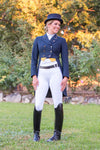 Youth Competition Wear - SNOW WHITE Competition Tights