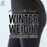 Youth BARE ThermoFit Winter Performance Tights - Black