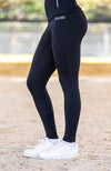 BARE ThermoFit Winter Performance Riding Tights - Black