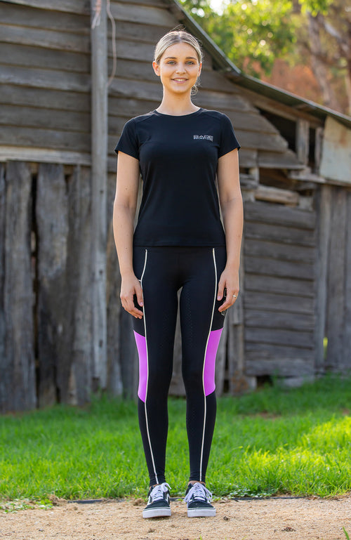 BARE Performance Tights - REFLECTIVE GLOW