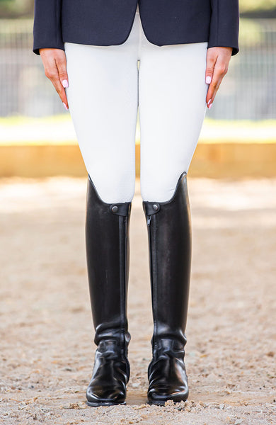 Youth Performance Tights - Ivory Competition Tights