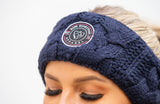 BARE Winter Series - Anna Headband - Navy