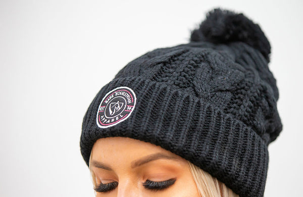 BARE Winter Series - Belle Beanie - Black