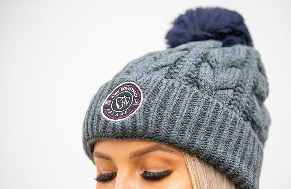 BARE Winter Series - Belle Beanie - Grey