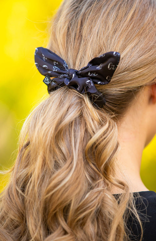 BARE Bunny Scrunchie - Black