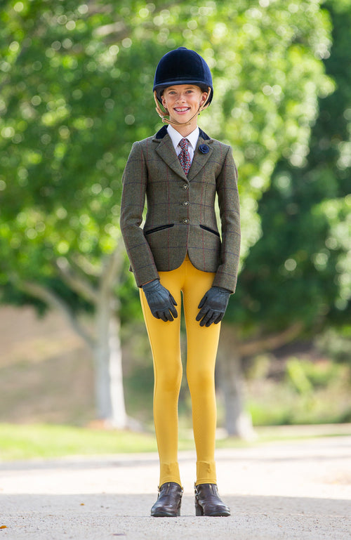 Youth Competition Wear - Gold Competition Tights
