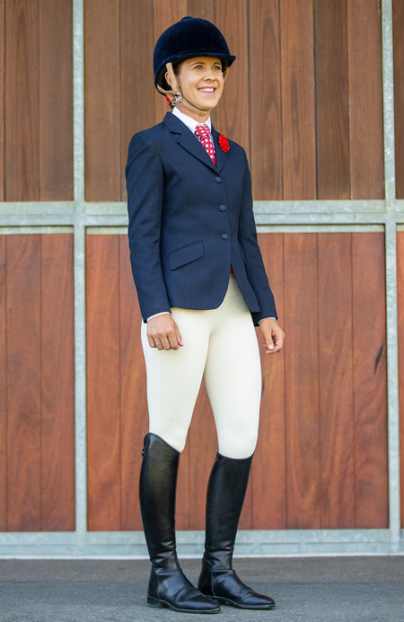 BARE Performance Riding Tights - Military Grey