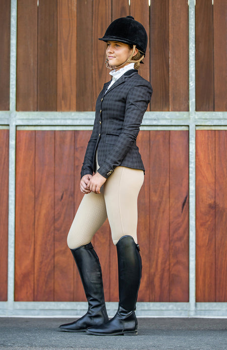 BARE Performance Tights - Ivory Competition Tights