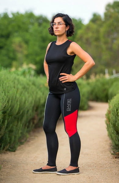 BARE Performance Tights - REFLECTIVE Red