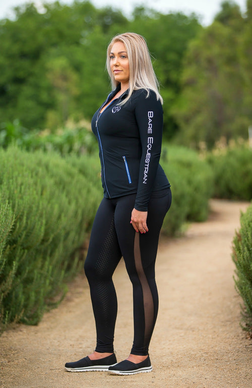 BARE Performance Riding Tights - Airflow (MESH)